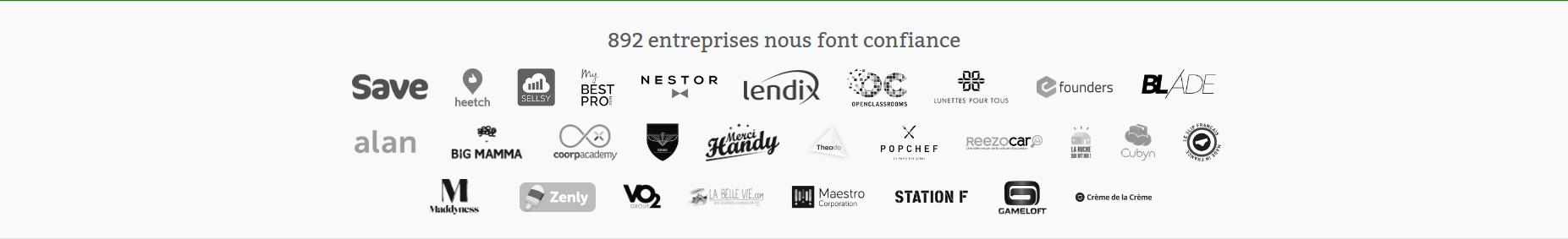 Logos clients - Payfit